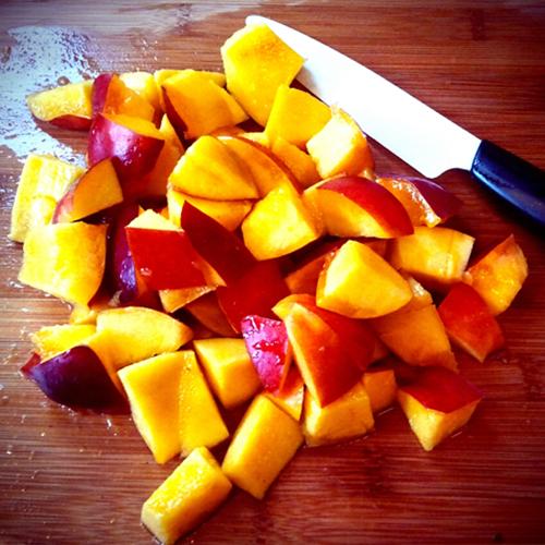 Fruit Salad Dressing_nectarines