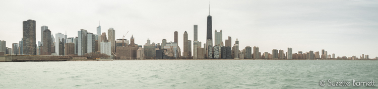Chicago skyline from Wendella cruise