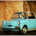 Small Italian Bianchina car