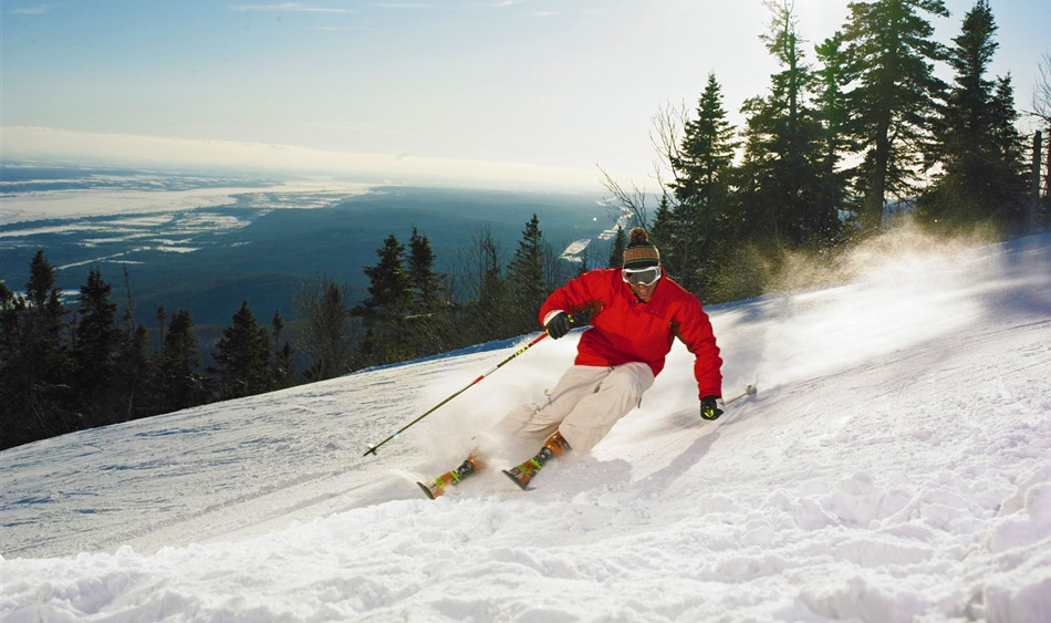190 Gorgeous Ski Runs in Québec City.