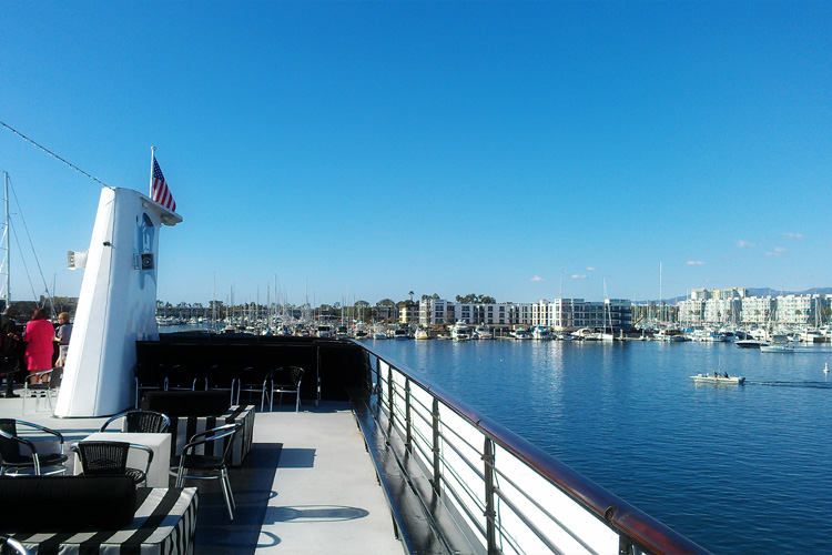 Hornblower Champagne Brunch Cruise Marina Del Rey Top Deck Sightseeing