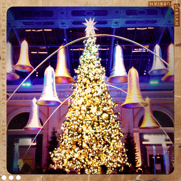 Las Vegas Bellagio Hotel Christmas Tree Holidays Best Deals