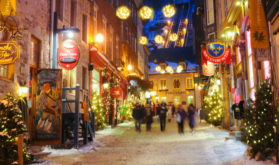 Ten reasons qu bec is the winter wonderland of your dreams for Decoration quebec