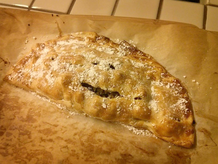Baked Bastilla Moroccan Pie Pocket Crust
