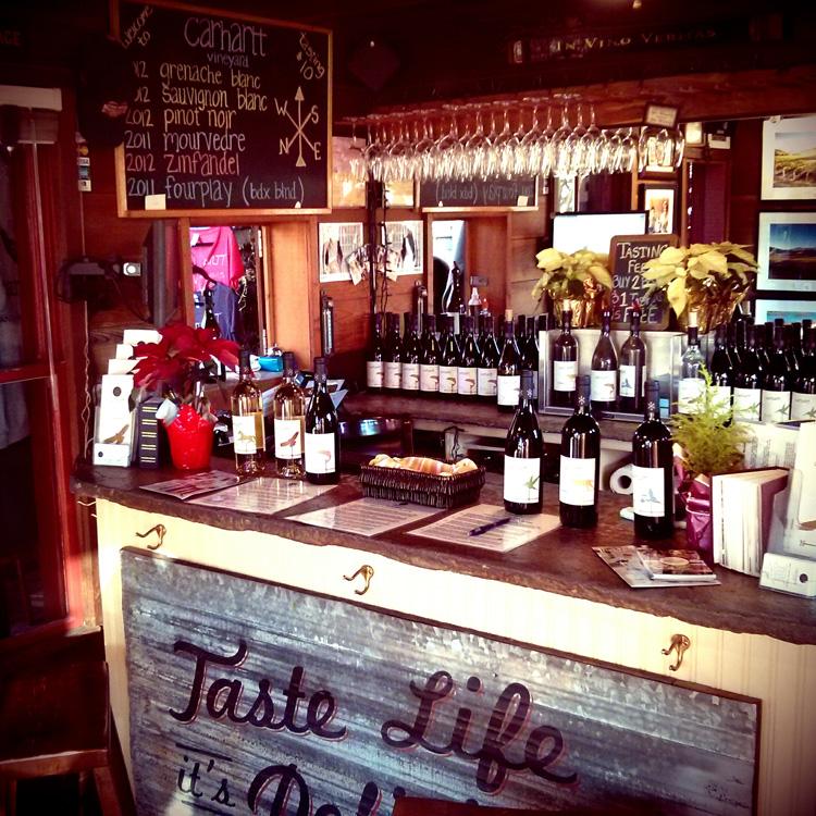 Los Olivos Carhartt Tasting Room Inside Wine Country Getaway Discounts