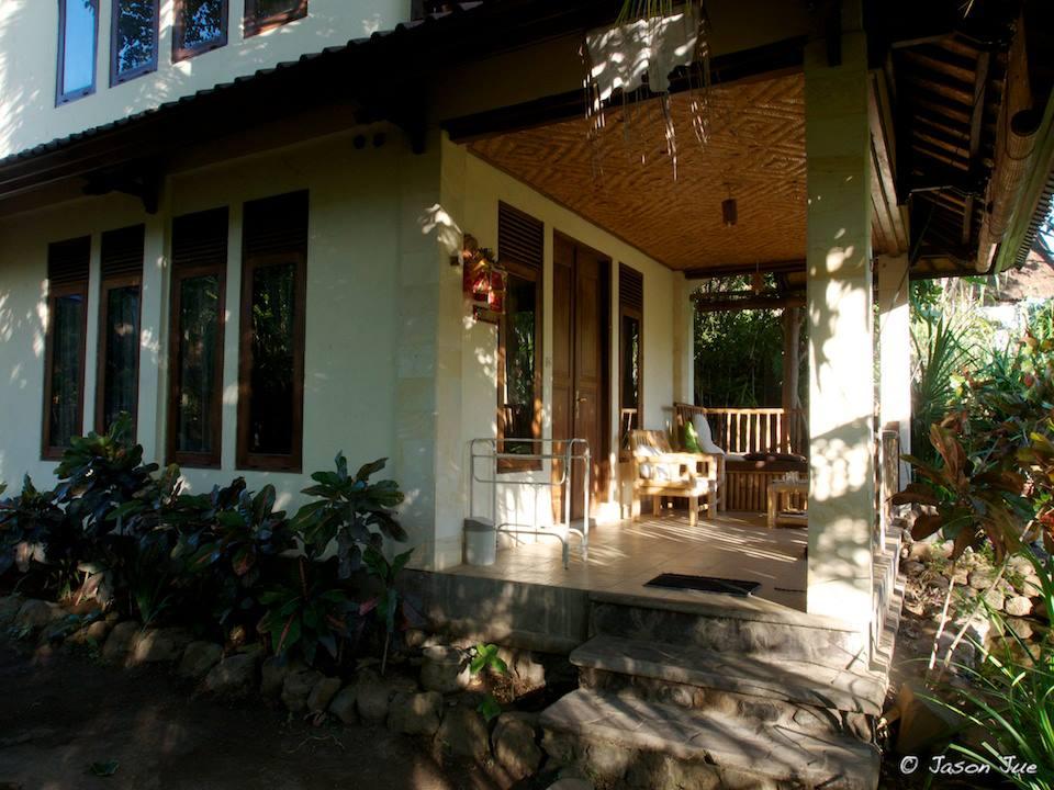 Jukung dive bungalow in Bali