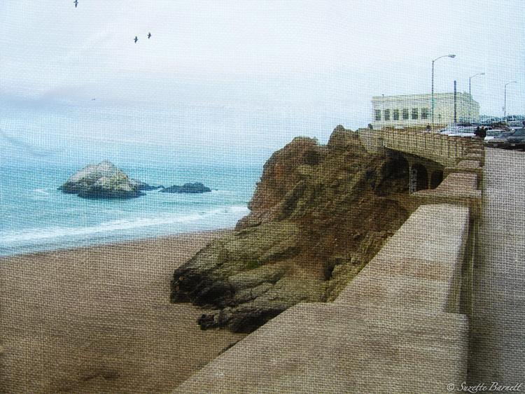 San Fran Sutro Baths Road Trip West Coast Bridge Artistic