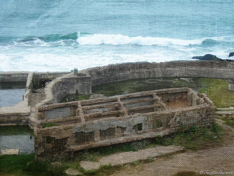 San Fran Sutro Baths Road Trip West Coast Ocean Shore Ruins Artistic