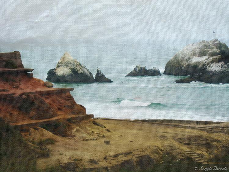San Fran Sutro Baths Road Trip West Coast Shore Ruins Artistic