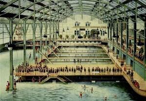 vintage Sutro Baths circa 1896