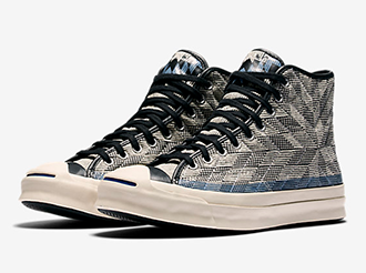 CONVERSE JACK PURCELL SIGNATURE QUILT HIGH TOP
