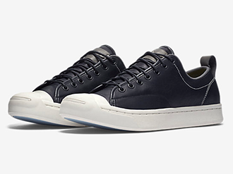 CONVERSE JACK PURCELL TUMBLED LEATHER LOW TOP