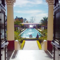 Getty Villa Malibu Los Angeles Ancient Roman Museum Must See Gardens Facing West
