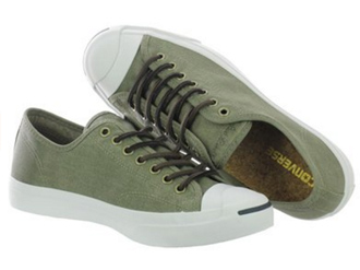 converse jack purcell_green surplus canvas