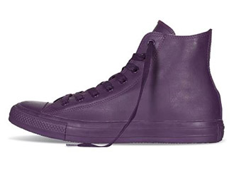 rare converse all-star all purple rubber rain boot hitop