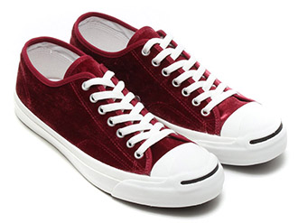 red velvet rare jack purcell converse