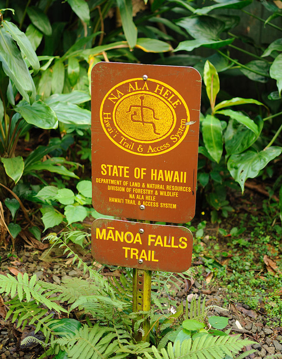 state of hawaii sign