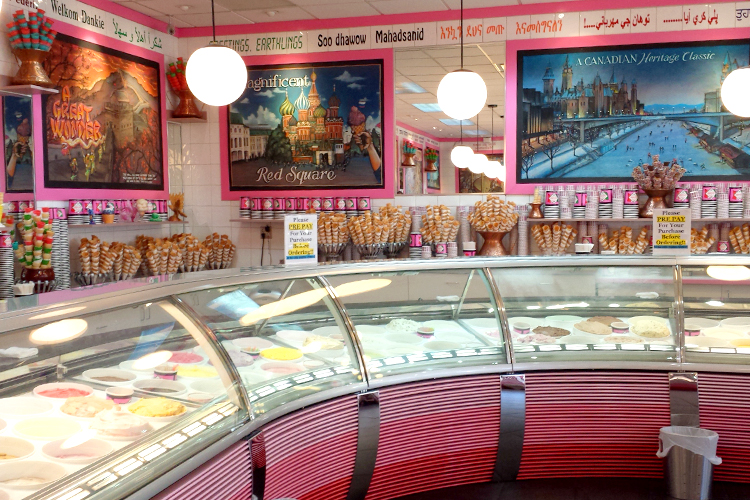 vancouver la casa gelato hundreds of wacky flavors