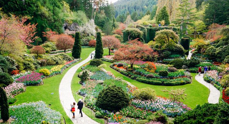 VictoriaBC_Buchart Gardens