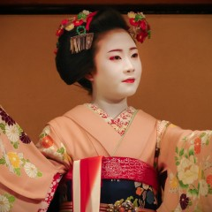 Meiko performance at Gion Corner