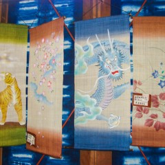 hand painted bamboo wall hangings kyoto