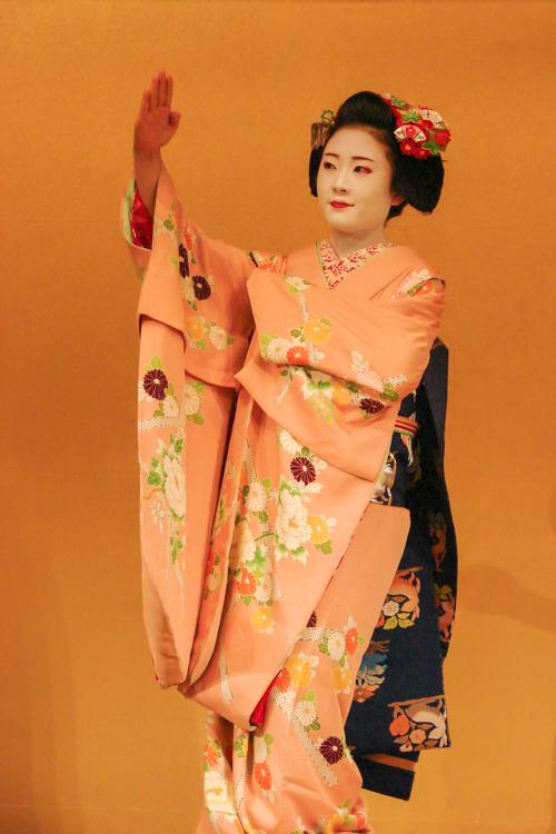 kyomai kyoto dance by geisha