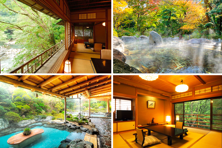 best hakone ryokan with private onsen