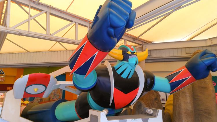 giant mazinger z anime robot