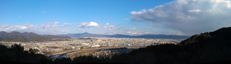 panorama of Kyoto