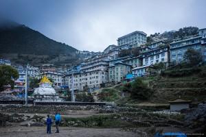 namche village Nepal