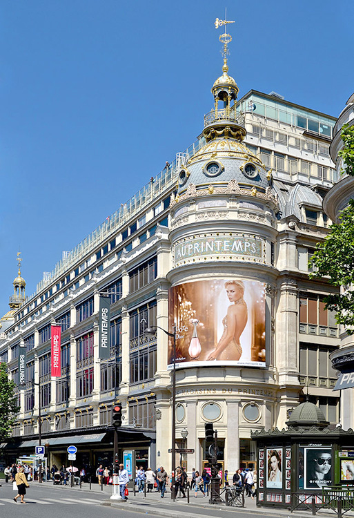 Au_Printemps_Haussmann_Paris_exterior