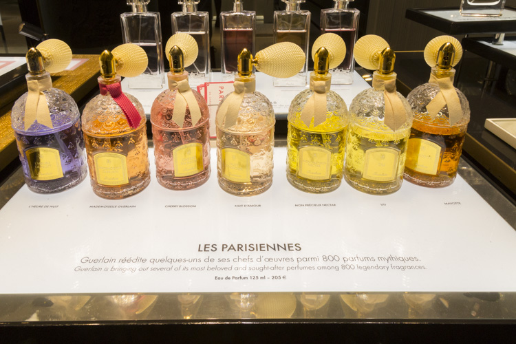 Les Parisiennes perfume at Galeries Lafayette Paris