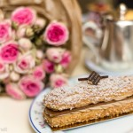 tea time in Paris_roses and pastry at Carette