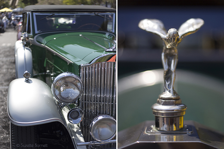 1933 Packard Series 1005_Spirit of Ecstasy on Rolls Royce Silver Ghost