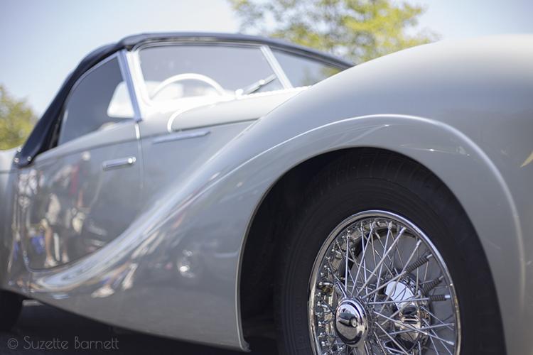 1951 Delahaye Type 235 Cabriolet fender curve