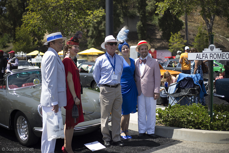 Festive attendees of Greystone Concours d'Elegance