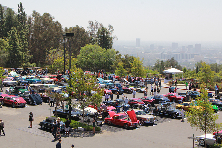 Greystone Mansion concours d'elegance overview