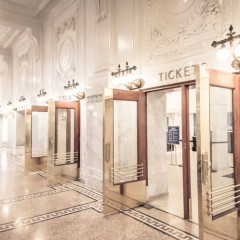 King Street Train Station Seattle Ticket Doors