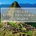 Peru travel giveaway