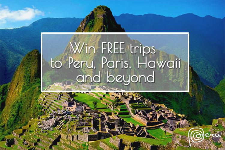Peru travel giveaway