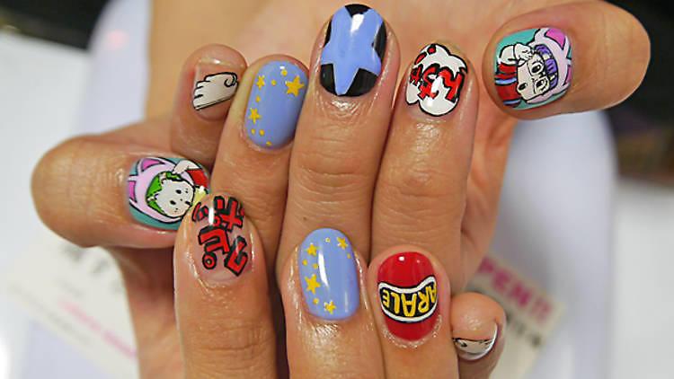 Tokyo anime nail salon
