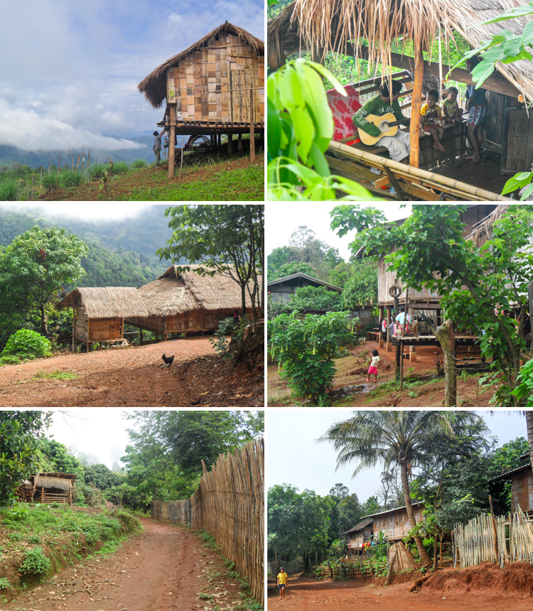 Chiang Mai Lahu Hill Tribe Village