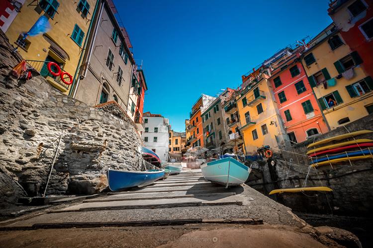 Embarquement at Riomaggiore Italy