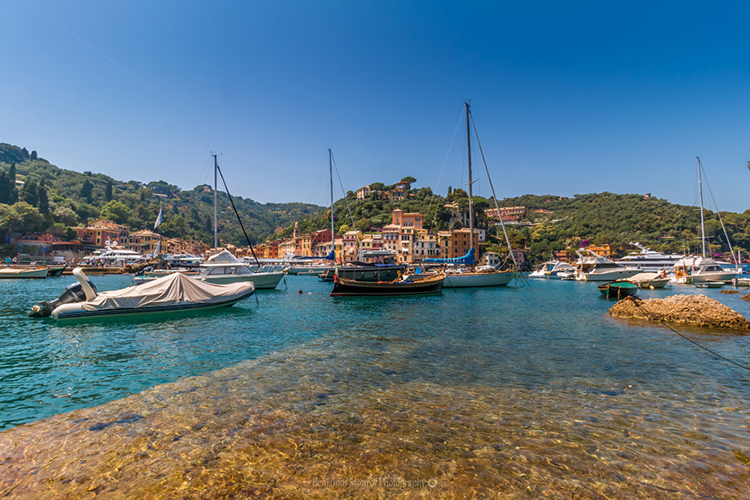 Portofino boats Liguria Italy