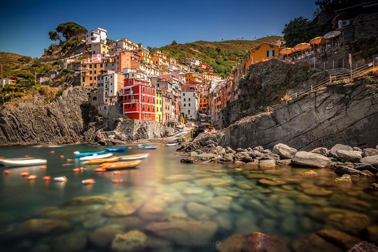 Riomaggiore at Cinque Terre