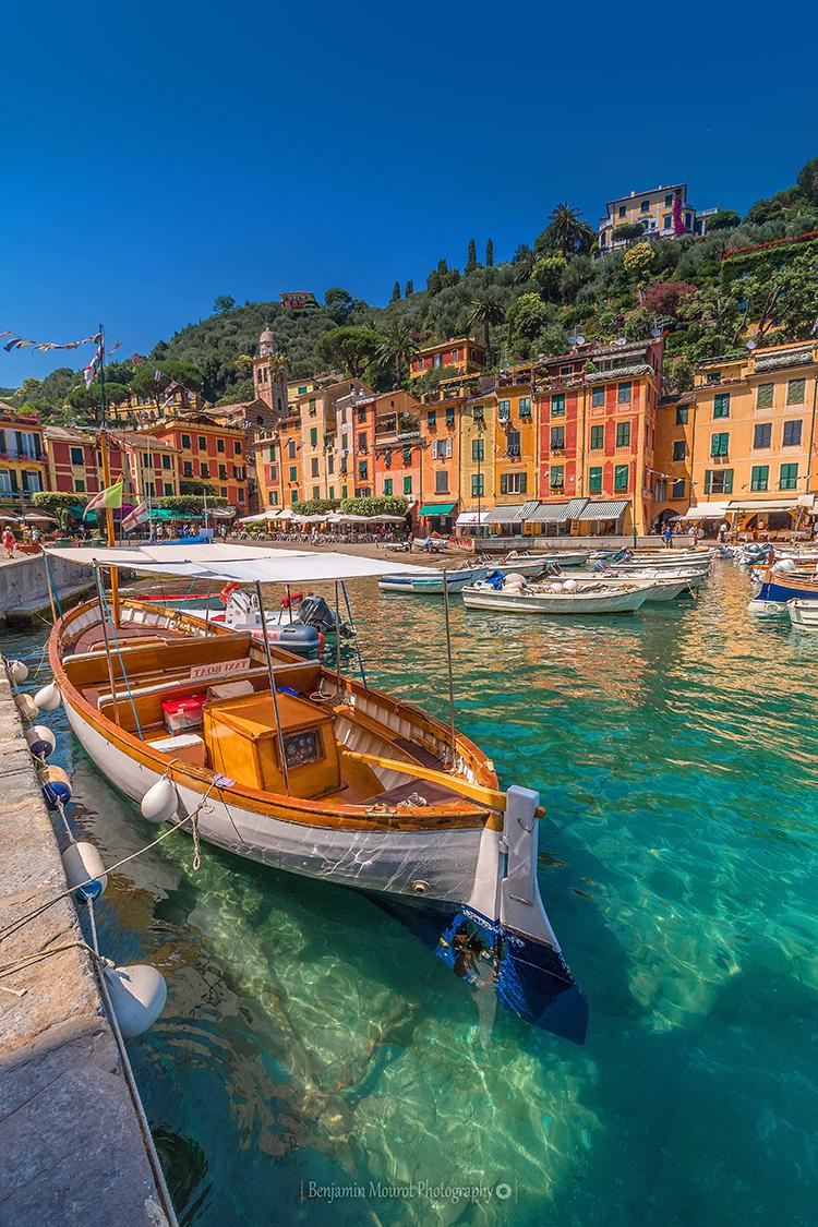 Taxi Boat at Portofino Italy
