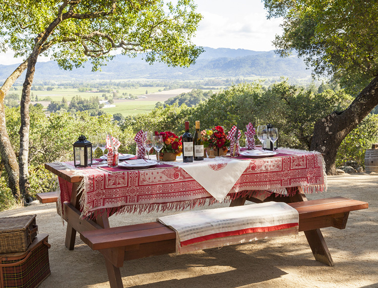Rutherford Hill Winery Picnic