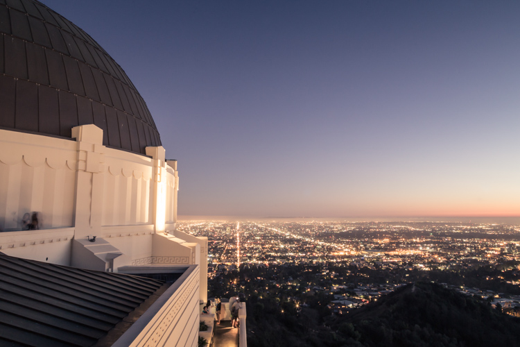 Griffith_Observatory-blue hour