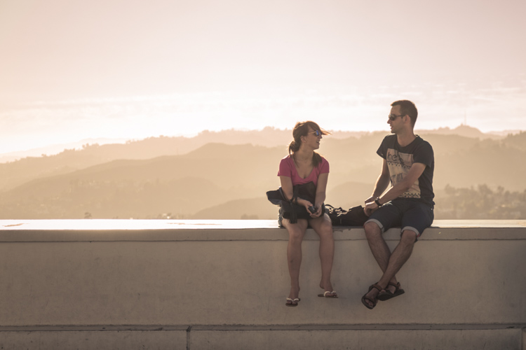 Griffith_Observatory-young couple