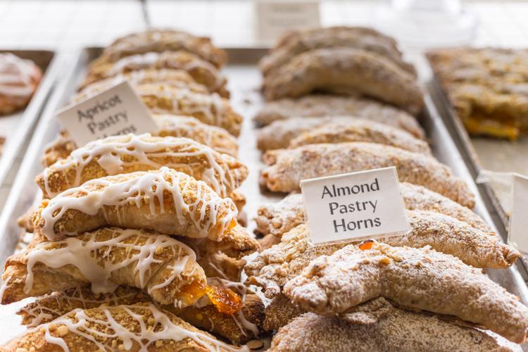 Veseckys Bakery Chicago almond pastry horn